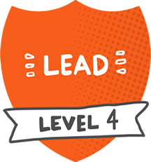 Mentor level 4 badge - Lead